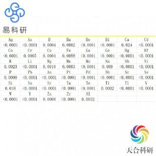 电感耦合等离子体质谱分析